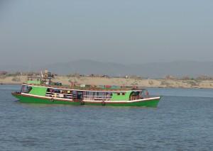 Irrawady rivier, Myanmar